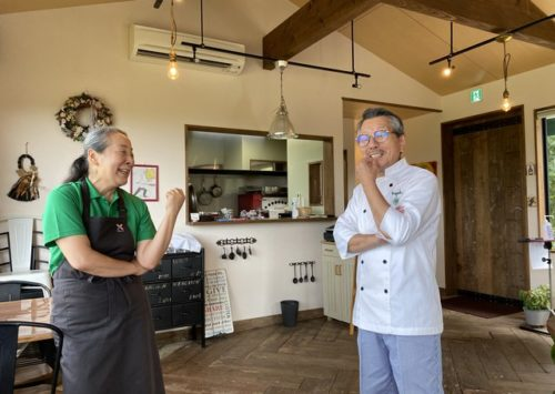 定年後に夫婦で開業「石窯Pizza Kapok」勝田寿寛さん