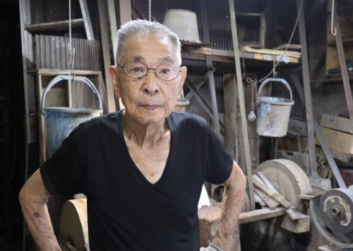 92歳の職人技!「林昭三刃物工房」林昭三さん
